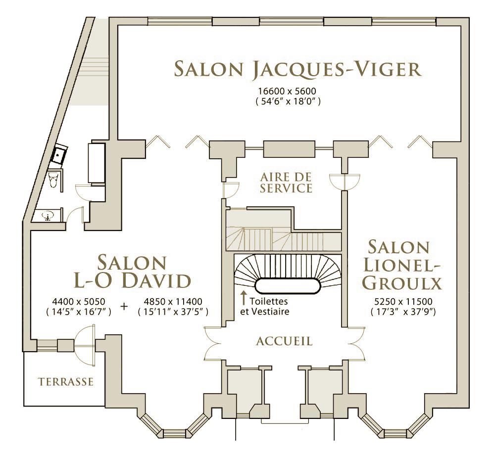 Plan-des-salons - salle à louer